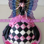 Bolo boneca Monster High