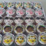 Cupcake decorado carnaval