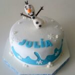 Bolo Frozen Olaf