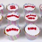 Cupcake decorado inglês