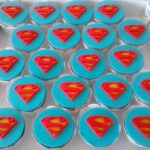 Cupcake decorado Superman
