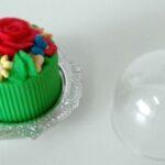 Mini bolo vaso verde