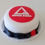 Bolo comemorativo Gracie Barra