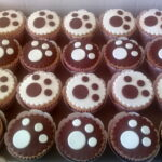Cupcake decorado patinha