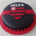 Bolo símbolo Flamengo