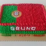 Bolo Bandeira de Portugal