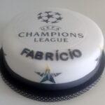 Bolo símbolo Champions League
