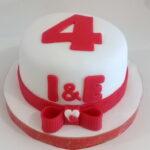 Mini bolo aniversário namoro