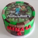 Mini bolo Minecraft
