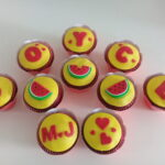 Cupcake decorado Magali