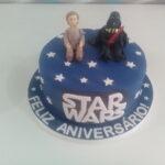 Bolo Star Wars Luke e Darth Vader