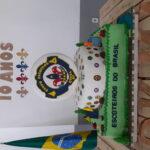 Bolo de aniversário 10 anos  Hokma Guará, feito em parceiria com Aglae bakery /art&bolo