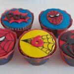 Cupcake decorado Homem aranha