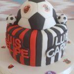 Bolo Flamengo e Corinthians