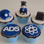 Cupcake decorado Formatura