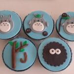 Cupcake decorado Totoro