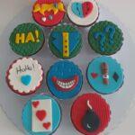 Cupcake decorado Alerquina