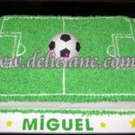 Torta Campo de futebol e bolo