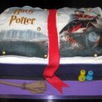 Bolo Livro Harry Potter