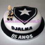 Bolo torcedor do Botafogo