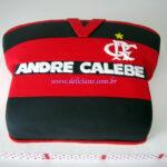 Bolo camiseta Flamengo