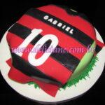 Bolo camiseta Flamengo 2