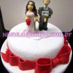 Bolo casamento noivo amarrado