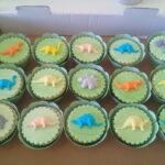 Cupcake decorado dinossauro