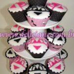 Cupcake decorado Langerie