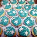Cupcake decorado  Frozen