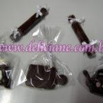 Miniaturas de chocolate