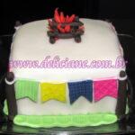 Mini bolo festa junina