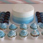 Kit festa Degradê Azul claro