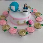 Kit festa bolo Mala e cupcakes
