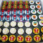 Cupcake decorado circo