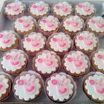 Cupcake decorado Peppa