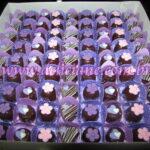 Bombom variado lilas