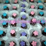 Bombom flores coloridas